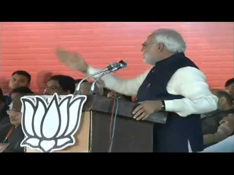 Shri Narendra Modi Addressing Bjp's National Council Meeting In Delhi - Speech video