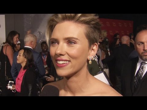Scarlett Johansson Talks New Additions At Avengers 2 Premiere