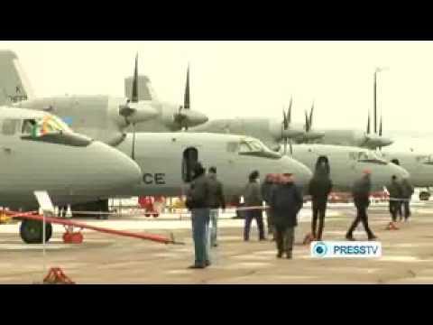Ukraine Upgrades Indian Air Force An-32 Aircraft(press Tv News) video