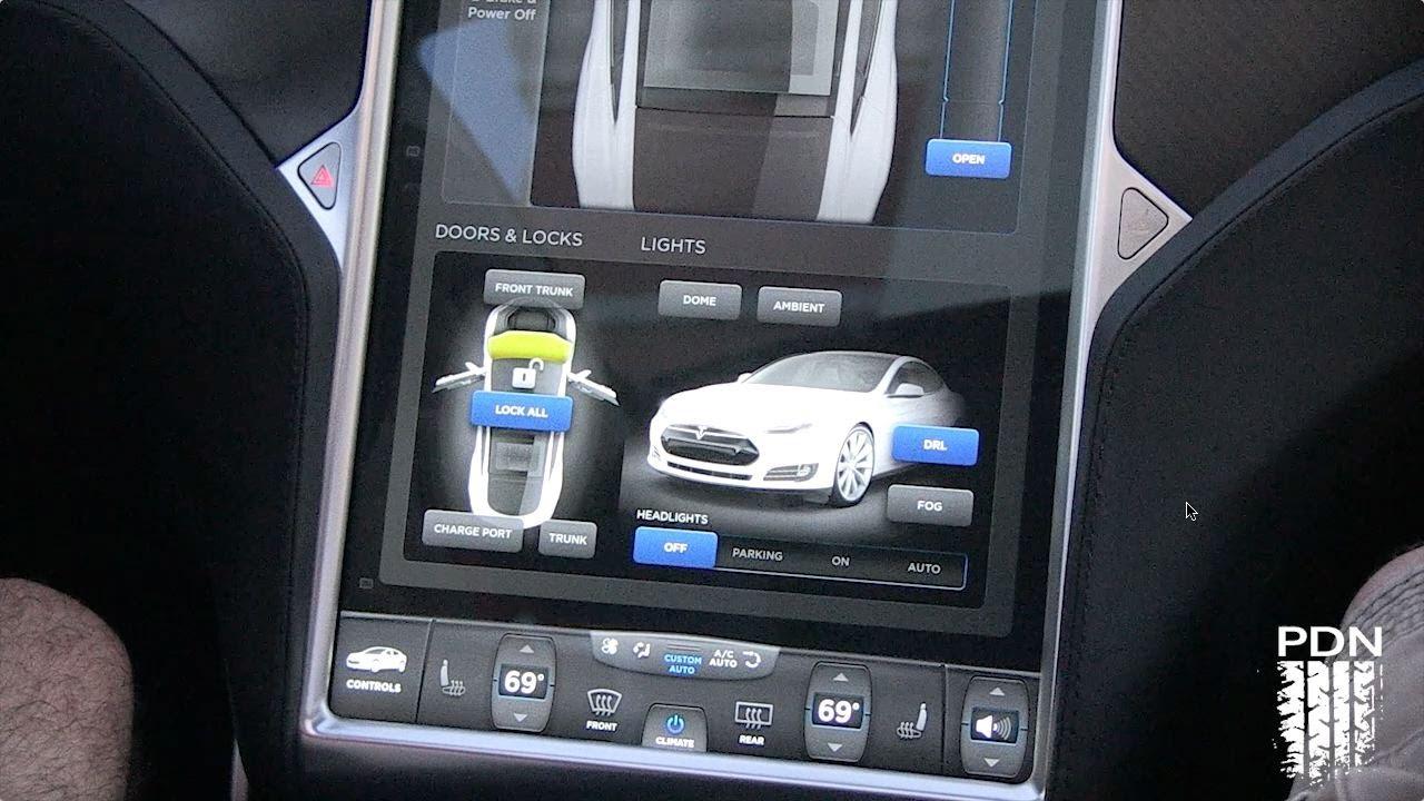 Tesla Model S Interior >> Bad Ass Control Panel - Tesla Dash - YouTube
