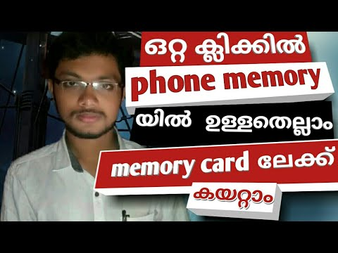 Automatically Move phone memory Files to memory card proof avalable