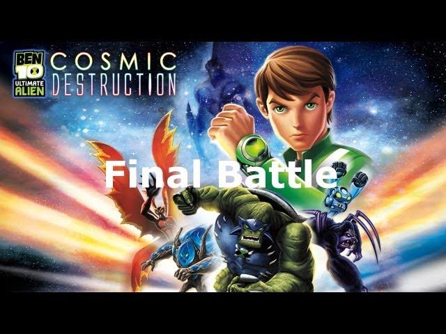 Ben 10 final battle boss
