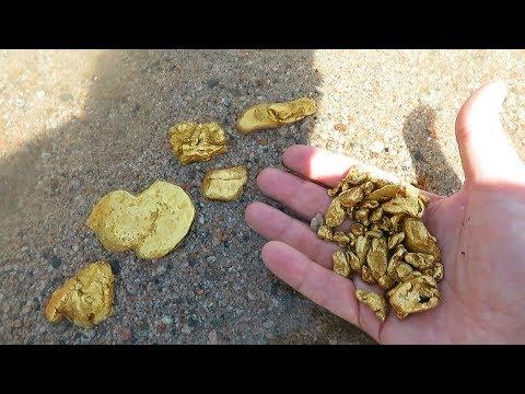 Ходим по пляжу и добываем золото. Когда богатые россыпи скапливаются у берегов…