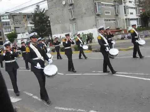 Yo tenia un camarada, himno infanteria de marina - Desfile 17 de septiembre Talcahuano