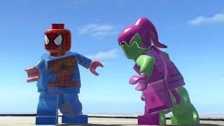 GREEN GOBLIN VS SPIDERMAN (BATTLE) - LEGO Marvel Super heroes