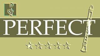 Recorder & Guitar Duet - Perfect Symphony - Ed Sheeran (Sheet music - Guitar chords)