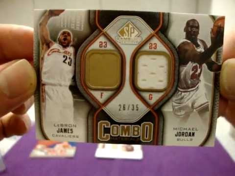 FOR SALE: LEBRON JAMES MICHAEL JORDAN DWYANE WADE JERSEY PATCH CARDS!!