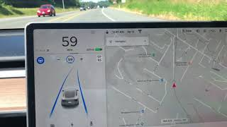 How to get rid of Grayscale Map & How to Show Real-Time Traffic - Tesla Model 3