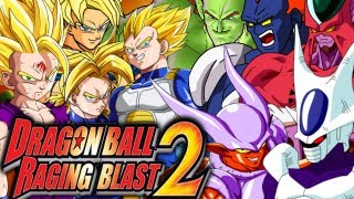 DragonBall Raging Blast 2_ Super Saiyans VS Movie Villains (Live Commentary) [4v5 Team Battle]