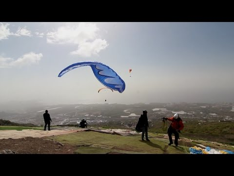 Take off Compilation, MUST SEE !! Paragliding Chaos at Tenerife