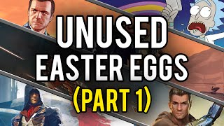 Best Unused Video Game Easter Eggs and Secrets