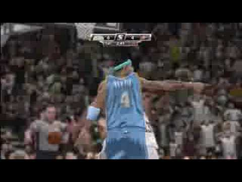 NBA 2K9 Gamplay - Nuggets vs - Suns [HD]