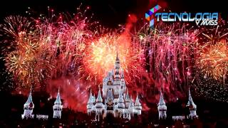 Magic Kingdom Fuegos artificiales de la víspera de Año Nuevo , Fireworks Walt Disney World 2017