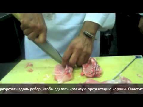 Разделка Кролика - Нож навыки - Приготовление кролика