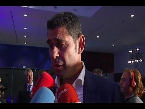Hierro, nueva mano derecha de Ancelotti