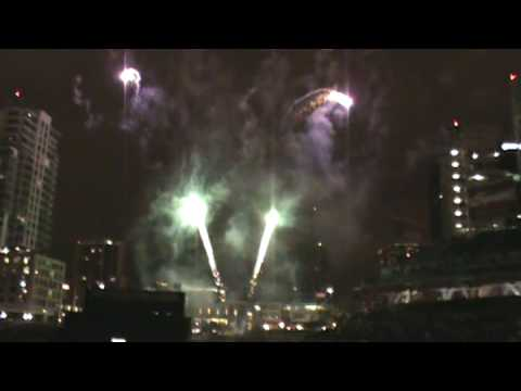 Fireworks at Petco Park Video
