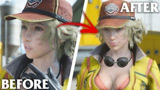 BEFORE AND AFTER YOU TELL BAE SHE LOOKS LIKE A MEAL! | Final Fantasy XV PC