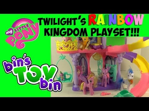 My Little Pony Princess Twilight Sparkle's Friendship Rainbow Kingdom Review! by Bin's Toy Bin