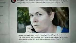 Ironic Woman calls police on 8 year old girl for selling water without a permit owns a Cannabis biz