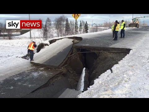 Powerful 7.0 magnitude earthquake hits Alaska
