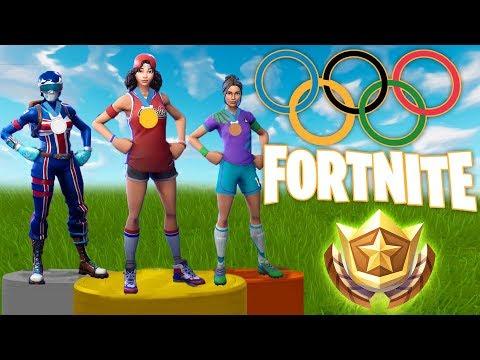 [NEU] Die Olympischen Spiele in Fortnite ! l Fortnite Olympics !