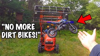 Angry Landowner Crushes and Steals My Dirt Bike