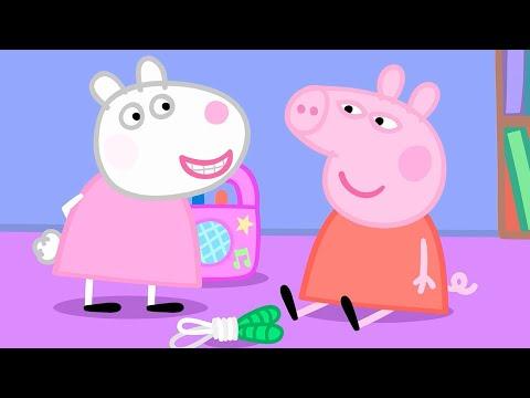Мультфильмы Серия - Свинка Пеппа на русском все серии подряд - Компиляция школы 1 - Мультики