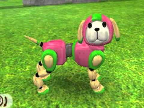 How To Get The Robot Dog In Nintendogs Cats
