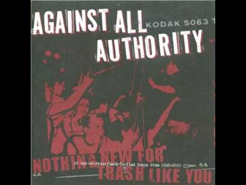 Against All Authority - In On Your Joke