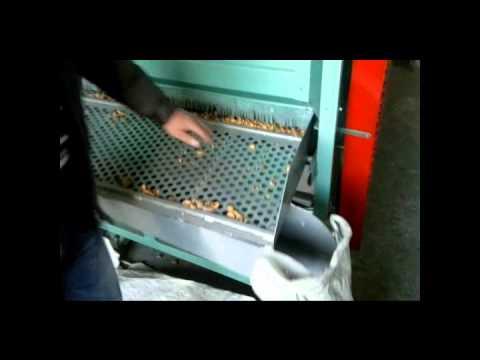 Ürünal Badem Kırma ve Ayıklama Makinası
