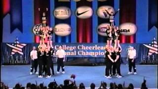 University of Central Florida Cheerleading 2003