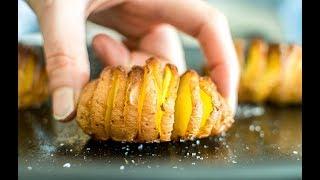 Salt and Vinegar Hasselback Potatoes