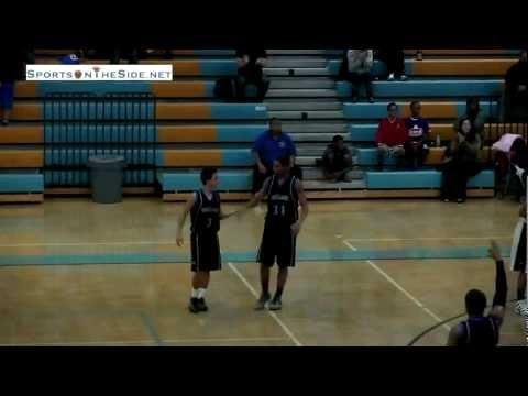 Eastlake's Adrian Tabula '12 makes a 3-ball at the buzzer to tie the game and Aaron Baltazar '13 wins the game with a free throw with no time left. Not quite sure how # 1 Aaron Baltazar was...