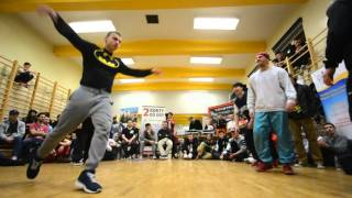 Ćwierćfinał Breakdance na Dance The World: Husaria vs Boogie Lans