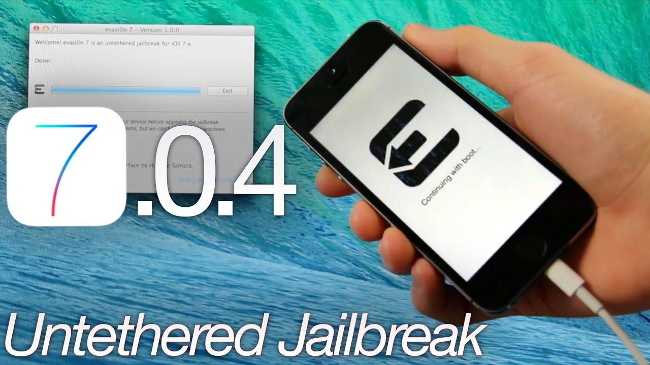 jailbreak iphone 7.0.4 evasion jailbreaks