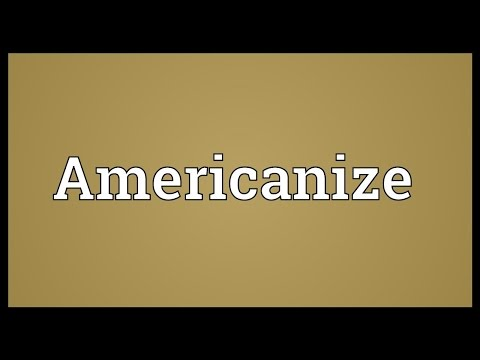 Header of Americanize