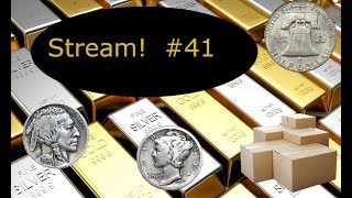 Get that silver. Coin Roll Hunting  #41. More entries for the Panda gold slab Giveaway for good.