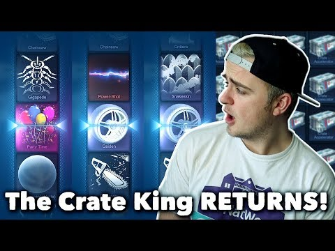 MY BEST CRATE OPENING?! | 50 Rocket League DOUBLE PAINTED DROP RATE CRATE OPENING!