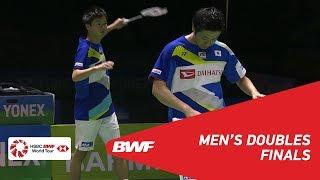 F | MD | KAMURA/SONODA (JPN) [1] vs ENDO/WATANABE (JPN) [2] | BWF 2019