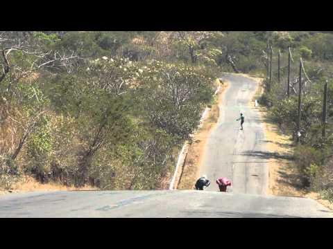 100km/h+ speedboarding @ ¨la chicharra¨ guatemala