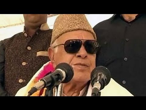 Those who vote for Modi should jump into the sea, says Farooq Abdullah