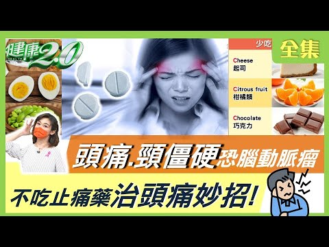 台灣-健康2.0-20211017 臉瘀紫腦出血!頭痛欲裂.頸僵硬 小心致命炸彈-腦動脈瘤! 不吃止痛藥治頭痛妙招!
