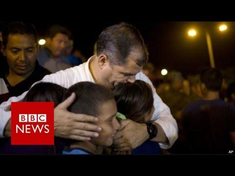 Ecuador earthquake leaves more than 200 dead - BBC News