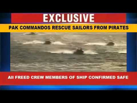 PAKISTAN NAVAL COMMANDOS RESCUE SAILORS FROM SOMALI PIRATES