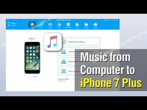 How to Add Music from Computer to iPhone 7 Plus without iTunes