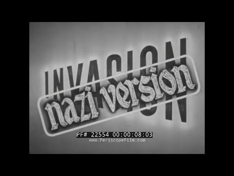 GERMAN VERSION OF THE D-DAY INVASION  FILM MADE BY O.S.S. IN WWII  22554