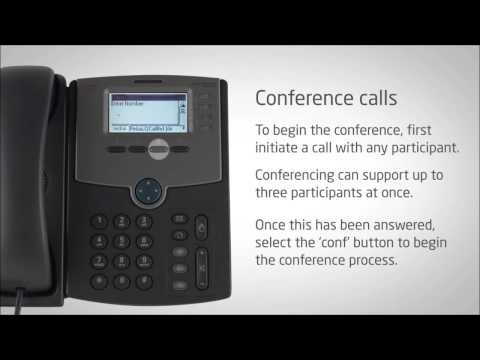 How To Conference Call In Cisco Ip Phone 02 Conference Call Video