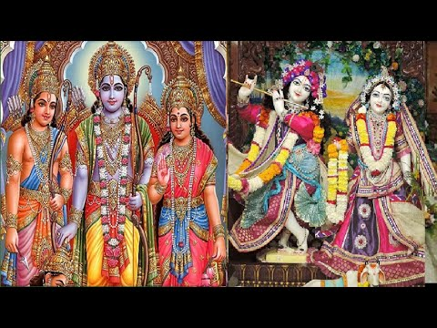 jag Mein Sundar Hai Do Naam- Beautiful Lord Shr Rama Krishna Bhajan video