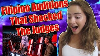 FILIPINO AUDITIONS THAT SHOCKED THE JUDGES! REACTION!  from Everyday TV