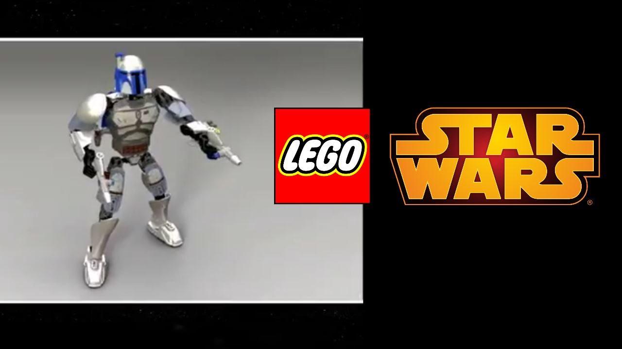 Lego Jango Fett And Boba Fett Lego Star Wars 2015 Jango Fett